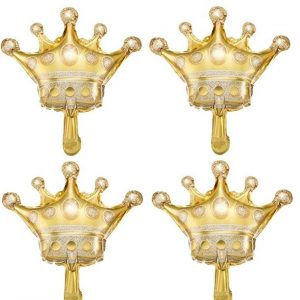 Gold Crown Balloons