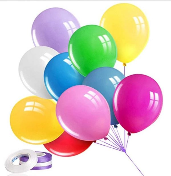 party latex balloons